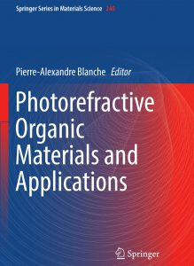Photorefractive book cover