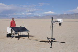 RadCaTS ground-viewing radiometer (GVR) at Railroad Valley