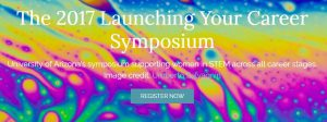 Launching Your Career Symposium. Click to go to the main website for the event.